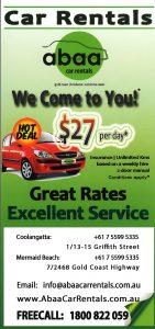 Abaa Car Rentals