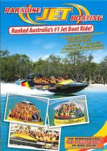 Paradise Jet Boating A4 - New