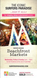 Surfers Paradise Beachfront Markets