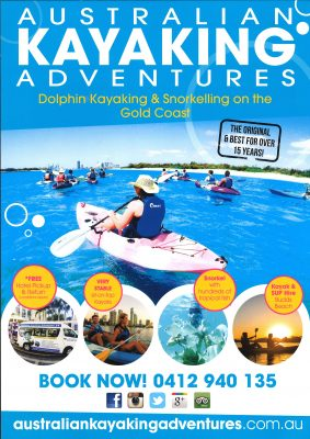Australian kayaking Adventures A4 - New