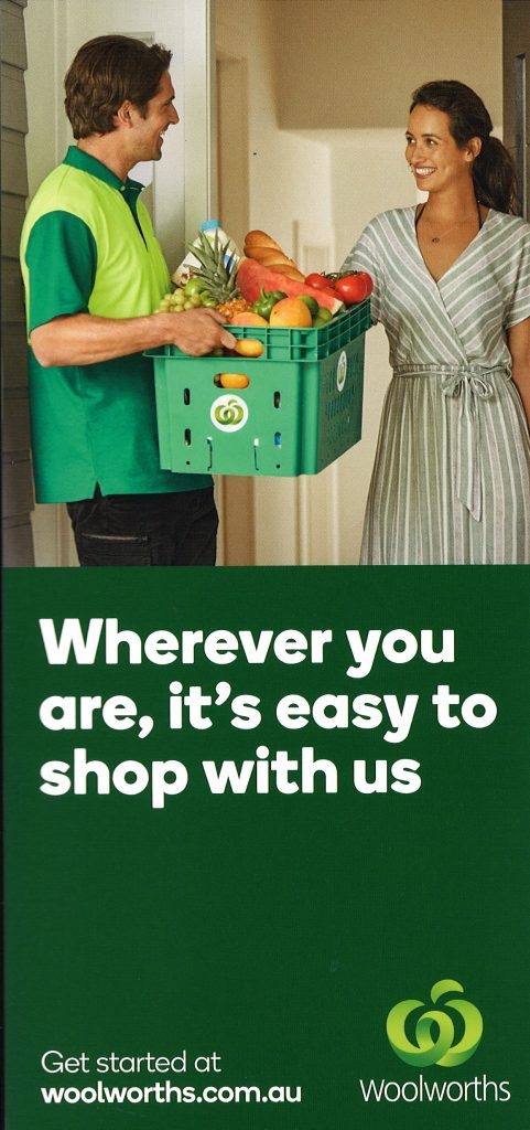 Woolworths Online Shopping   Surfers Paradise Brochure Service