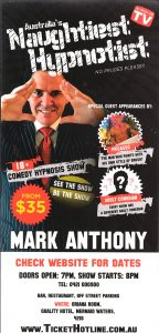 Mark Anthony Naughtiest Hypnotist